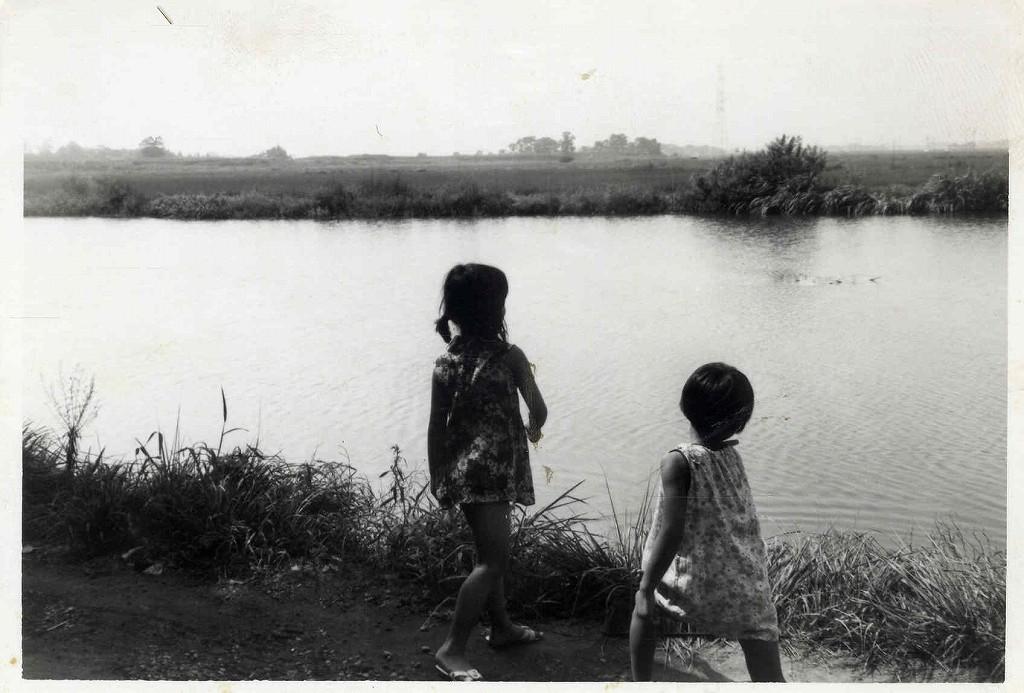 別府沼の岸